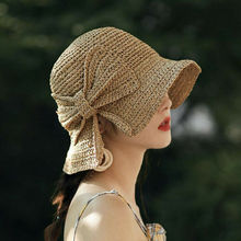 Тканые крючком женские соломенные головные уборы уличные пляжные солнечные кепки дышащие