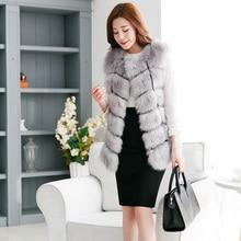 Pink Fluffy Faux Fur Coat Quality Woman Winter Jacket 2019 Elegant Casual Natural Fur Vest Sleeveless Fashion Plus Size Luxury цена в Москве и Питере