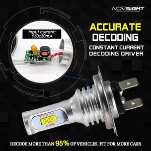 Image 4 - NOVSIGHT H4 H7 H11 H8 H9 H16JP H1 H3 자동차 LED 안개 전구 9005 9006 자동 운전 안개 램프 6500K 12V 24V LED 자동차 헤드 라이트