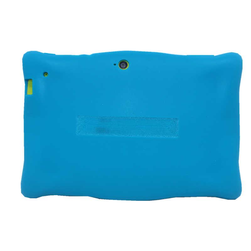7 インチ RK3126 M760 子供タブレット Pc アンドロイド 7.1 1 ギガバイト + 16 ギガバイトクアッドコア保護シリコンケース子供錠