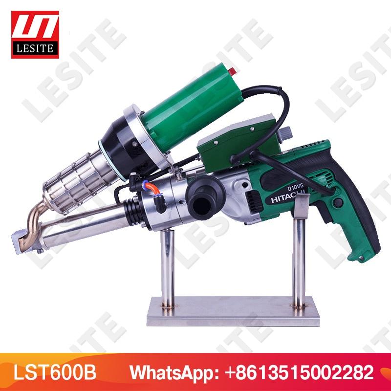 LESITE plastique extrusion pistolet de soudage PP plastique extrusion soudeur HDPE main soudage extrudeuse main extrudeuse LST600A/B/C