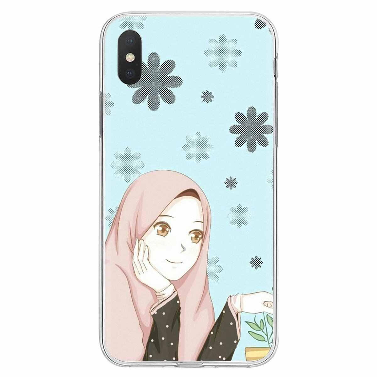 האסלאמי מוסלמי Hijabi בנות Womemen לxiaomi Mi5 Mi5S Mi6 Mi3 Mi4 Mi4i Mi4C Redmi הערה 2 3 3S 5 5A 6 6A פרו סיליקון כיסוי תיק