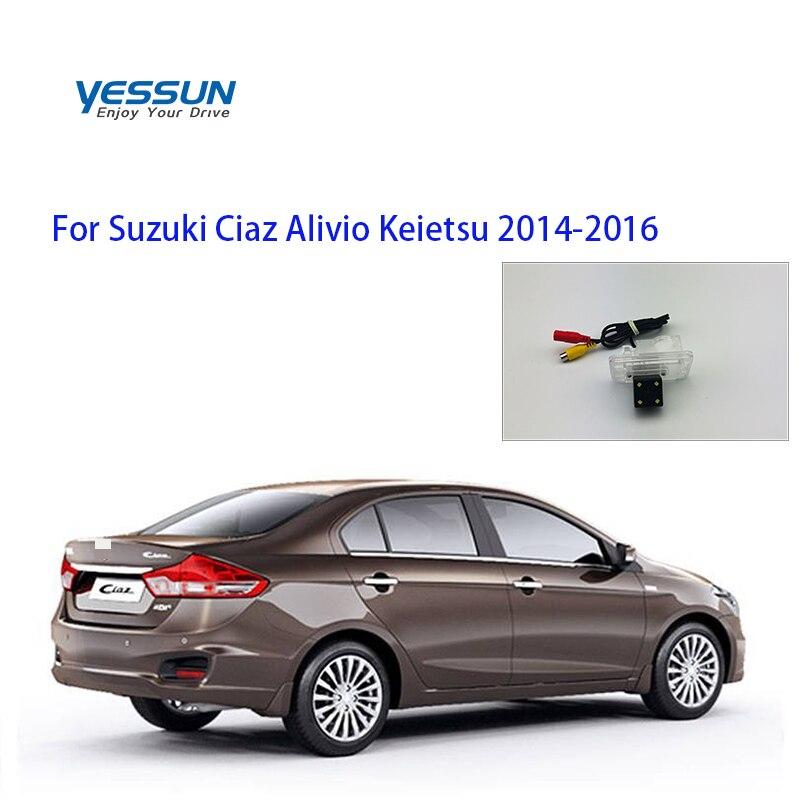 Yessun Rear View Reverse Backup Camera Rearview Parking For Suzuki Ciaz Alivio Keietsu 2014 2015 2016 2017 2018 2019 CCD  Camera