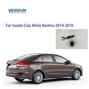 Yessun Rear View Reverse backup Camera rearview parking For Suzuki Ciaz Alivio Keietsu 2014 2015 2016 2017 2018 2019 CCD camera(China)