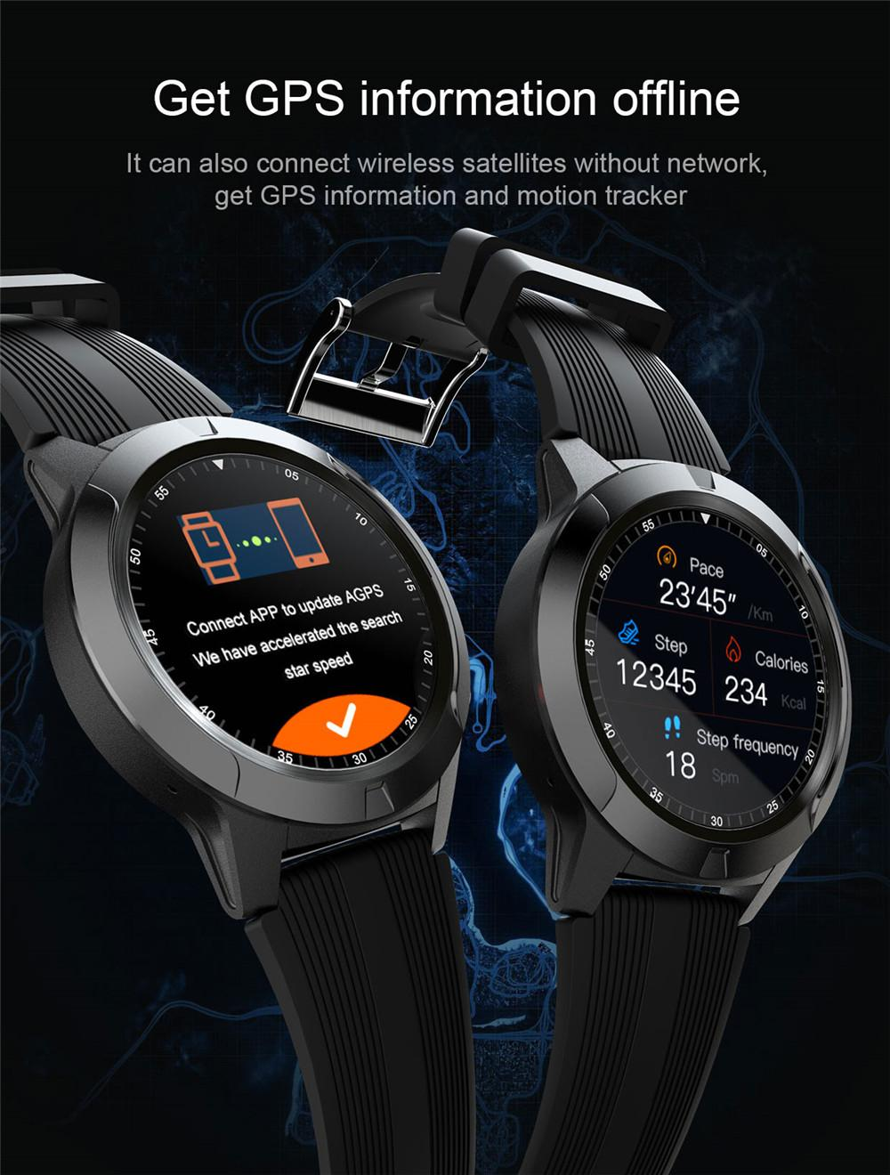 H17290f2e193b4baa90f56189a68c58d5N 2020 Built-in GPS Smart Watch GSM bluetooth Call Phone Air Pressure Heart Rate Blood Pressure Weather Monitor Sport Smartwatch