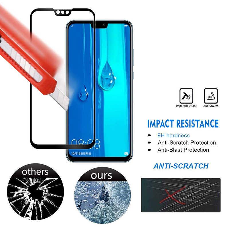 زجاج واقي على لهواوي P الذكية 2019 الزجاج المقسى واقي للشاشة PSmart ل Hawei Hawei Hawey Huavei Huaweii فيلم 9H