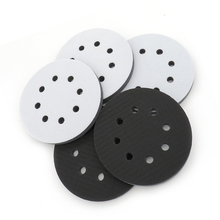 купить Top selling 5 Inch 8 Holes Soft Interface Sanding Polishing Disc Protective Pad Backing Pad дешево
