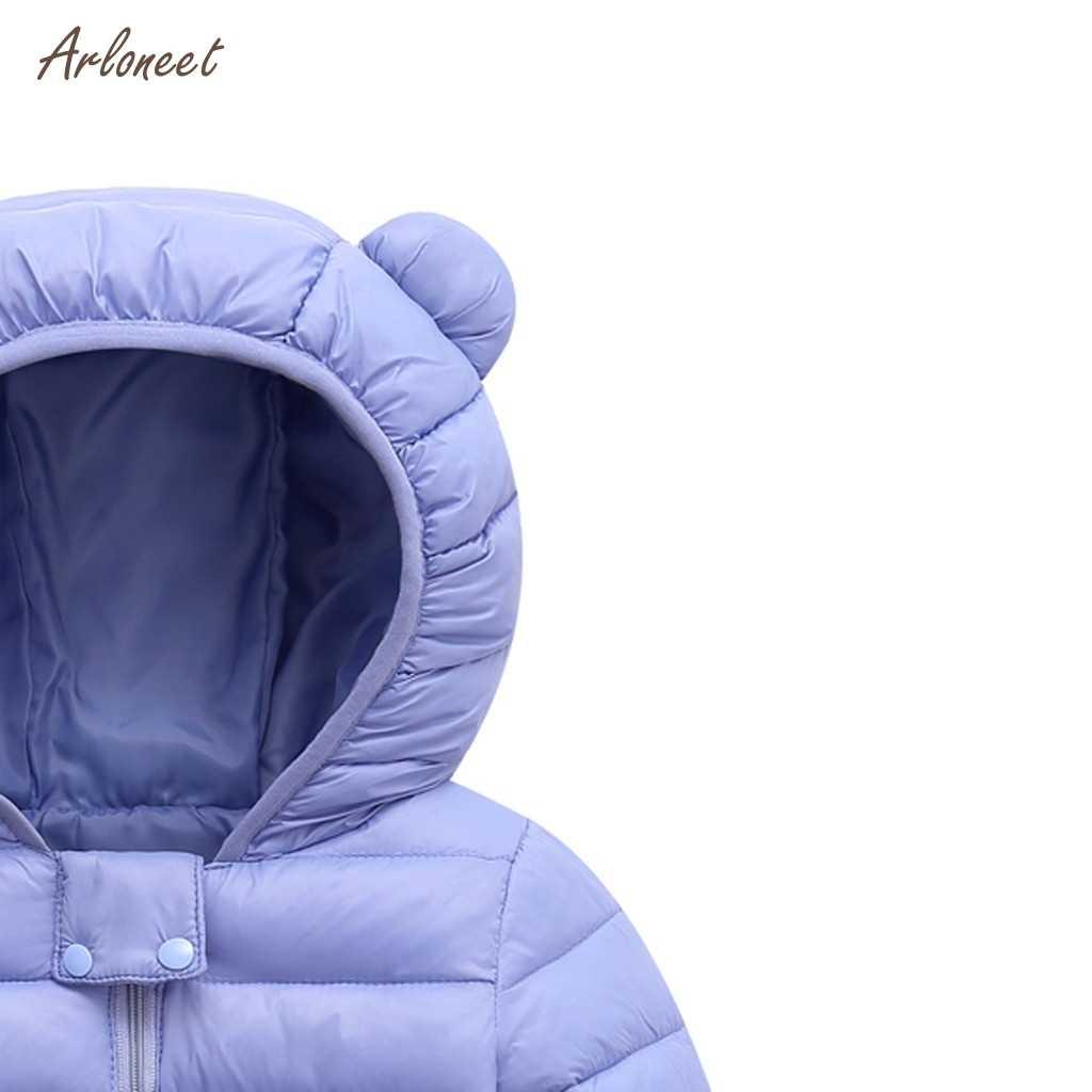 ARLONEET Chlidren ילדים בני בנות פעוטות ברדס 2019 אביב סתיו בנות מעילים מקרית ילדים להאריך ימים יותר אוזני שלג הסווטשרט להאריך ימים יותר