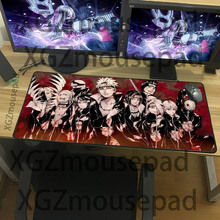 XGZ  Best Seller Large Mouse Pad  Series Design Table Mat Home Computer Notebook Office Durable Keyboard  Mouse Pad Anime