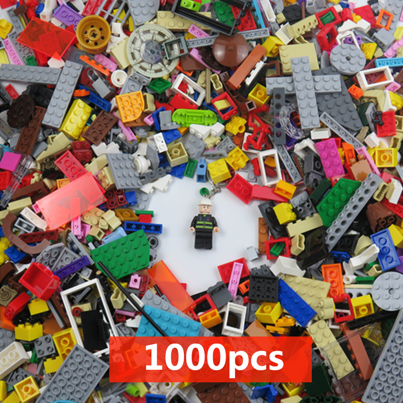 500/1000 Pieces Building Blocks Toy Compatible Lepingping All DIY Figures Educational Kids Bricks Toys