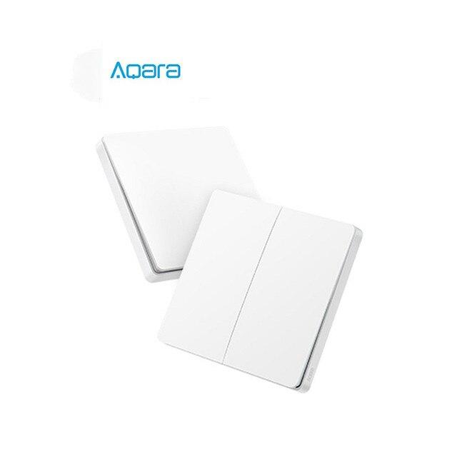 Aqara اللاسلكية مفتاح تحديث الإصدار زيجبي التبديل الذكية الاستشعار عن Mi المنزل App الذكية الجدار مفاتيح التبديل اللاسلكية