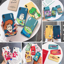 Lucu Kartun Toy Story Marvel Spiderman One Piece Case untuk Apple Iphone X 11 Pro XS Max XR 10 8 7 6 6 S PLUS Soft TPU Coque Cover(China)
