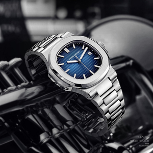 Image 4 - DIDUN חמה למעלה marque דה לוקס montre hommes automatique מצב en acier inoxydable mâle horlogemain 2019
