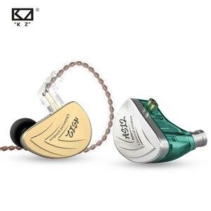 Image 4 - KZ AS12 écouteurs 12BA Armature équilibrée conduit HIFI basse dans loreille moniteur casque suppression du bruit écouteurs en alliage de Zinc casque