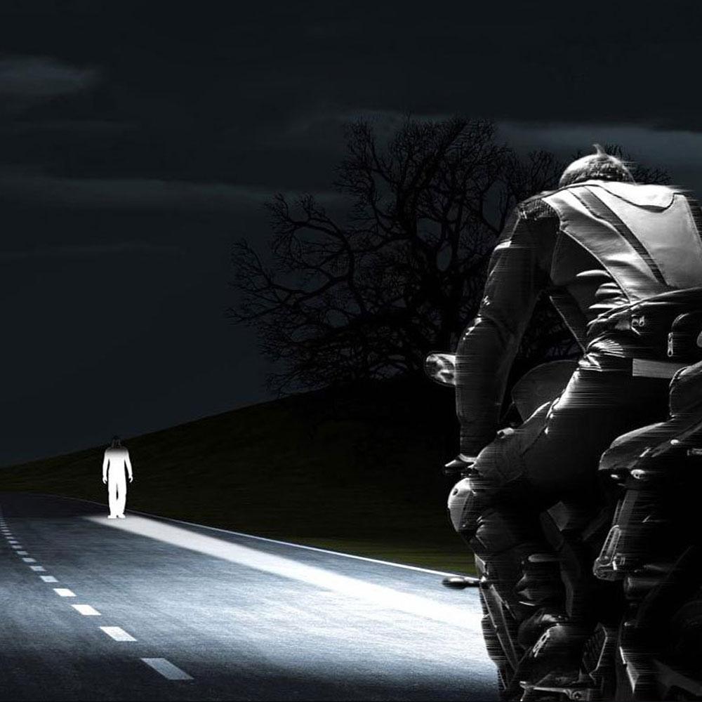 Image 5 - H6M P15D LED Motorcycle Headlight Motorbike DRL Fog Light 1200LM 6000K P15D 25 1 LED Moto Scooter ATV Accessories For Suzuki 12V    -