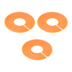 3 Pcs Clothing Size Dividers Plastic Practical Durable Dividing Rings Clothes Separator For Clothes Store Dressing Room Closet