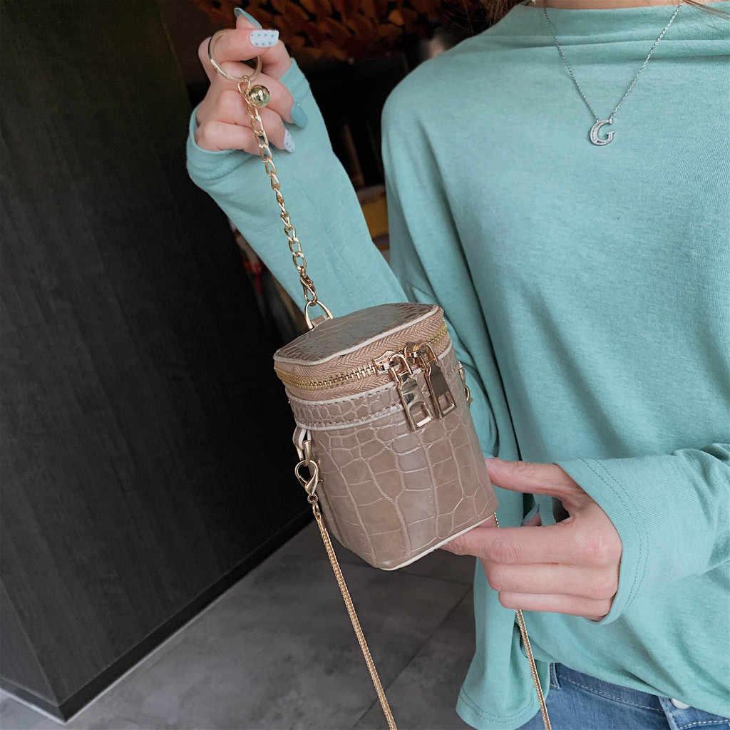 Mulheres retro mini bolsa de ombro padrão de pedra crossbody sacos de corrente de couro do plutônio designer batom bolsas pequeno mensageiro saco # t1p