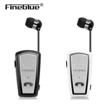 Fineblue FQ208 Bluetooth 4,0 Mini auricular estéreo Bluetooth inalámbrico Clip Cancelación de ruido auriculares con micrófono para IOS Android