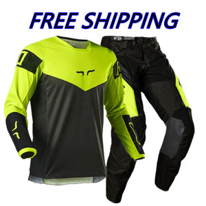 2021 Stream Fox Motocross Gear set ATV MX Jersey Set Off Road Moto Jersey And Pant