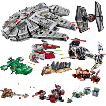 Bela Compatible legoing Blocks Star Wars Building Blocks Bricks Toys Space Starwars Action Figures Trooper Fighter Toys Gifts
