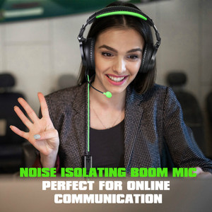 Image 3 - Oneodio Wired Stereo Gaming Headphones Call Center Office Headset With Noise Cancelling Microphone Studio DJ Headphone Green