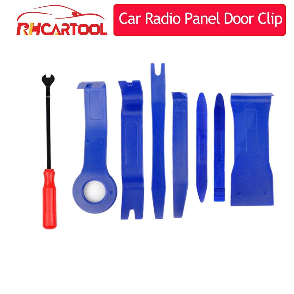 7/12 adet/takım DIY araba tamir aracı kiti sert plastik oto araba radyo medya panelli kapı klip paneli Trim Dashboard kaldırma açılış aracı
