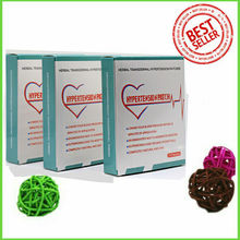 3 box=42patch High Blood Pressure Plaster Herbal Hypertension Patch Vessel Clean natural remedy  quality