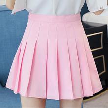 Women Pleat Skirt Preppy Style Pleated Skirts Mini Cute Japa