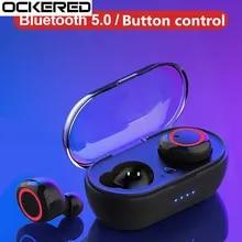 Earphone Hifi Gamer Charging-Box Bluetooth-Headset Tws Wireless Sport with Stereo