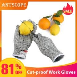 Antscope 1 Paar Schnittschutz-handschuhe Hppe Anti-Cut Handschuh Arbeit Handschuhe Schutz Finger Küche Männer Tragen-Beständig sicherheit Gloves19