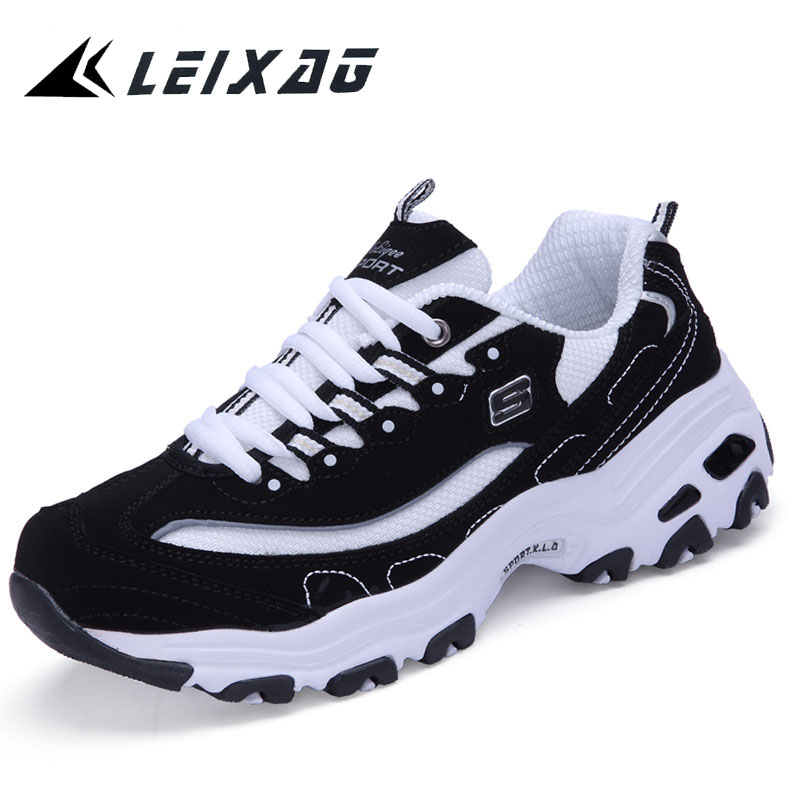LEIXAG Men Running Shoes Unisex Outdoor Sneakers Breathable Mesh Athletic Shoes Lightweight Training Shoes Couples Sport Shoes
