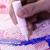 5 adet profesyonel elmas boyama tutkal okul çocuk el sanatları çevre koruma beyaz tutkal reçine epoksi