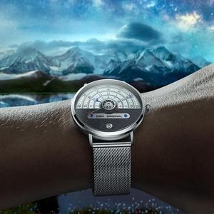 Image 5 - Original moda dom relógio masculino relógios de quartzo masculino à prova dwaterproof água relógio de pulso de luxo dos homens ouro M 1288GK 9M