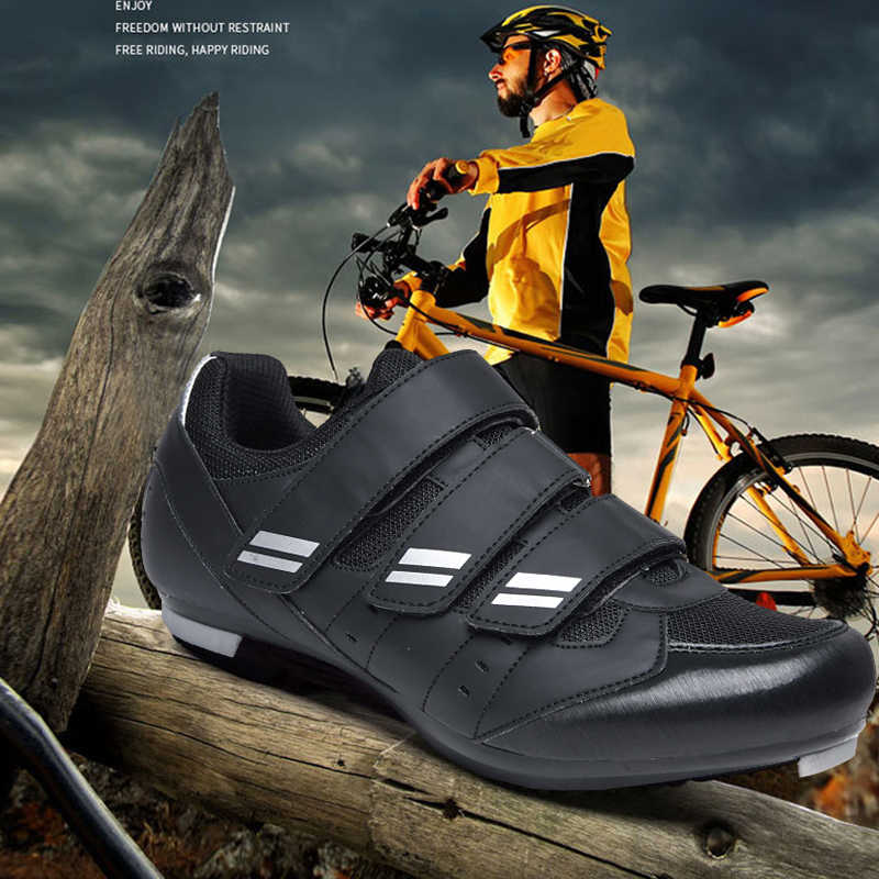 Outdoor MTB Cycling Shoes Mens Racing Road Mountain Self-locking Bicycle Sneaker
