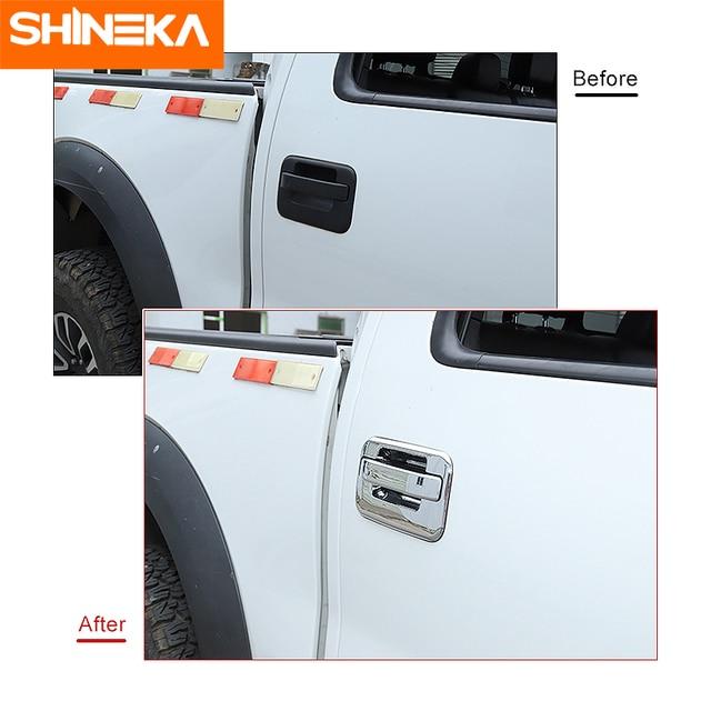 Купить shineka автомобильные наклейки для ford f150 наружная ручка картинки цена