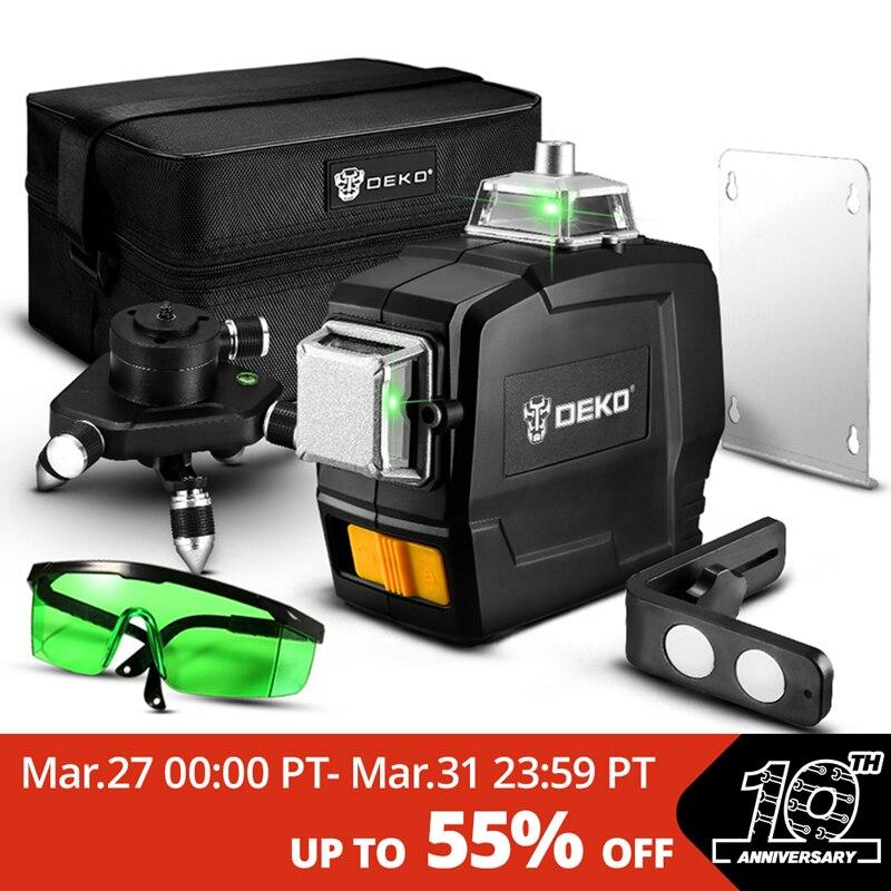 Samopoziomujący laser DEKO DKLL12PB1 z Polski za $48.49 / ~186zł
