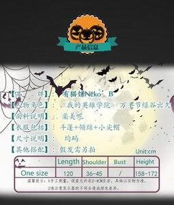 Image 5 - Anime Boku No My Hero Giới Học Thuật Midoriya Izuku Deku Trang Phục Hóa Trang Dễ Thương Áo Khoác Mũi Cho Halloween Giáng Sinh Tóc Giả