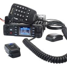 Anytone AT D578UV PRO mobilny radiotelefon dwuzakresowy UHF VHF 55W dmr cyfrowy i analogowy GPS apr kompatybilny z Bluetooth PTT voice record