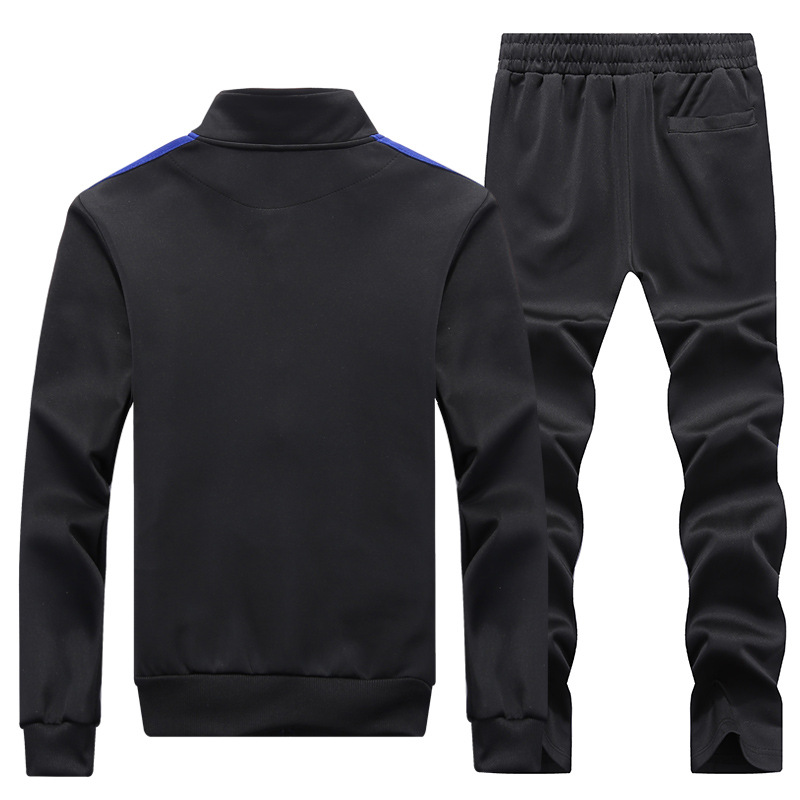 Spring Men Long Sleeve T-shirt Suit Korean-style Trend Handsome Men'S Wear Autumn Clothing Teenager Students Sports Wei Clothes