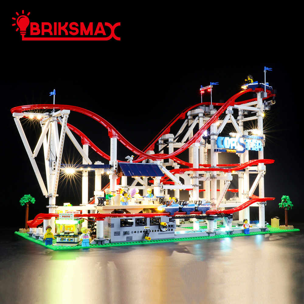 BRIKSMAX Led Lighting Kit for Creator Pirate Roller Coaster Not Include The Lego Set Compatible with Lego 31084 Building Blocks Model