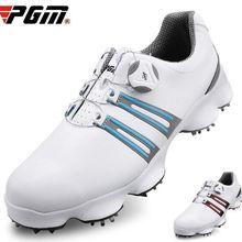 PGM обувь для гольфа мужская обувь для гольфа широкая подошва вращающиеся шнурки водонепроницаемые и дышащие