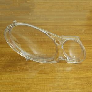 Image 5 - Pantalla para lente de faro delantero de coche, cubierta de cristal, para Benz W211, E240, E200, E350, E280, E300, 2003 2012