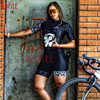 Kafit verão novo de manga curta triathlon esportes ciclismo macacão roupa ciclismo feminino macacão ir shorts terno 17