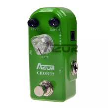 AZOR AP-309 estribillo Mini Guitarra efecto Pedal estribillo Pedal efecto guitarra Pedal accesorios guitarra partes Micro estribillo Pedal Mini(China)