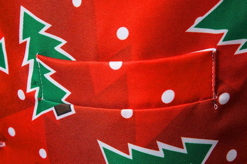 クリスマスツリー印刷ベスト男性 2019 秋の新クリスマスチョッキ男性クリスマスパーティー結婚式タキシードベストウエストコートジレ