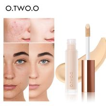 Face Concealer Cream Makeup Primer Full Cover Corretive Moisturizing Lasting Foundation Base Liquid Concealer Makeup Cosmetic o two o foundation liquid concealer cream waterproof full coverage concealer long lasting face scars acne moisturizing makeup