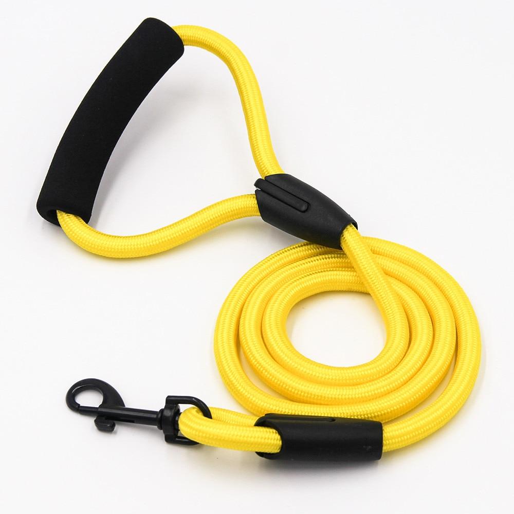 dog leash running walk train for large small cat pets Leashes dogs leash rope nylon Tenacity