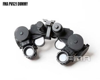 FMA-TB1300 New Tactical Airsoft Helmet PVS21 Night Vision Goggles NVG DUMMY Model