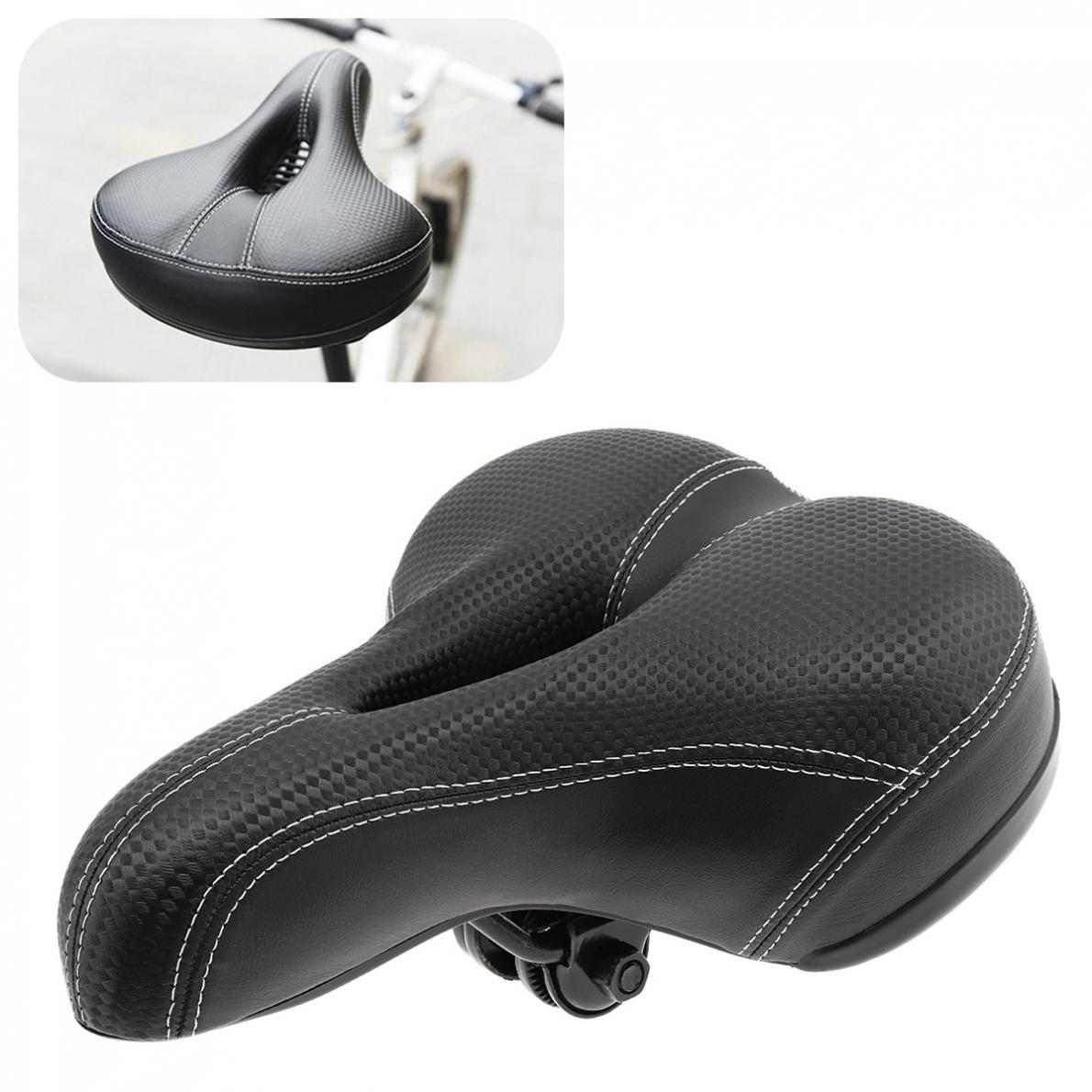 Grande assento de bicicleta engrossar sela da bicicleta assento ciclismo sela mtb almofada asiento bicicleta esponja macia ciclismo sela