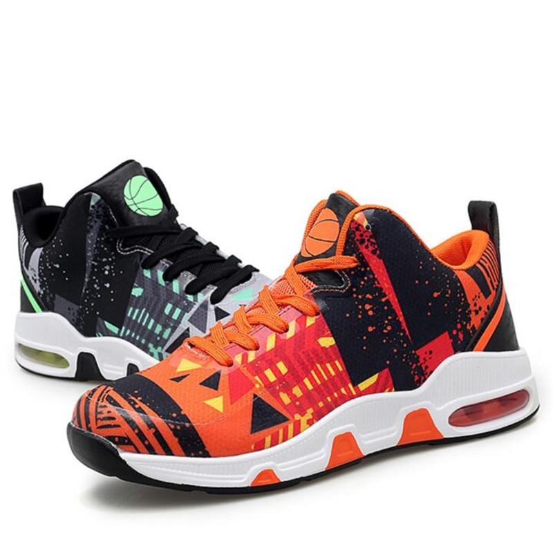 Rotok Zapatillas transpirables de baloncesto con amortiguaci/ón de la luz para hombre